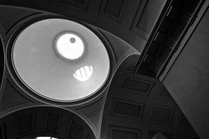 Cimitero monumentale della Certosa di Bologna. Particolare del soffitto
