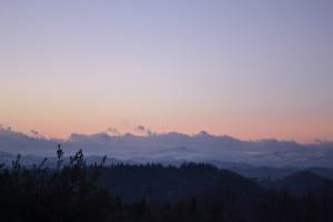 Tramonto su Urbino