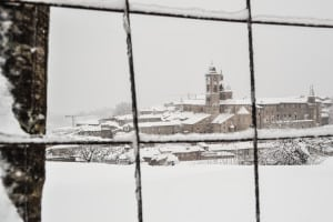 Urbino innevata